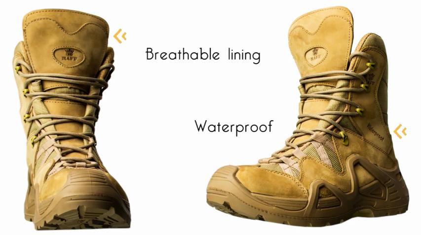 Top 5 de botas militares más populares