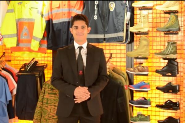 Vídeo corporativo de Raff Military Textile