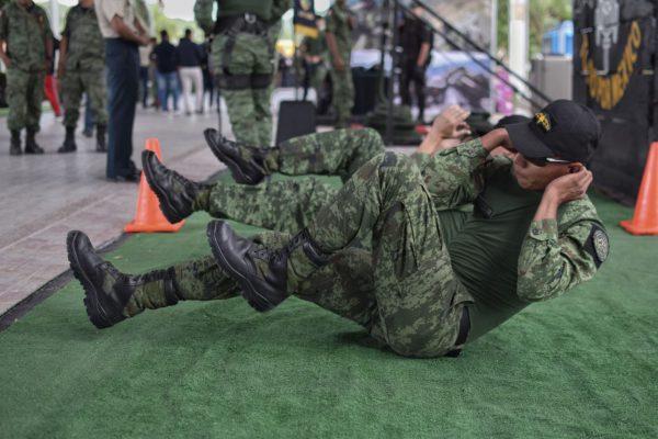 Cambios del camuflaje militar mexicano