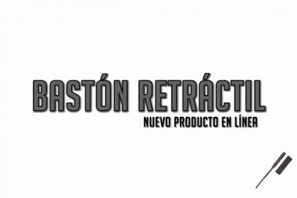 Bastón retráctil: nuevo producto en Raff