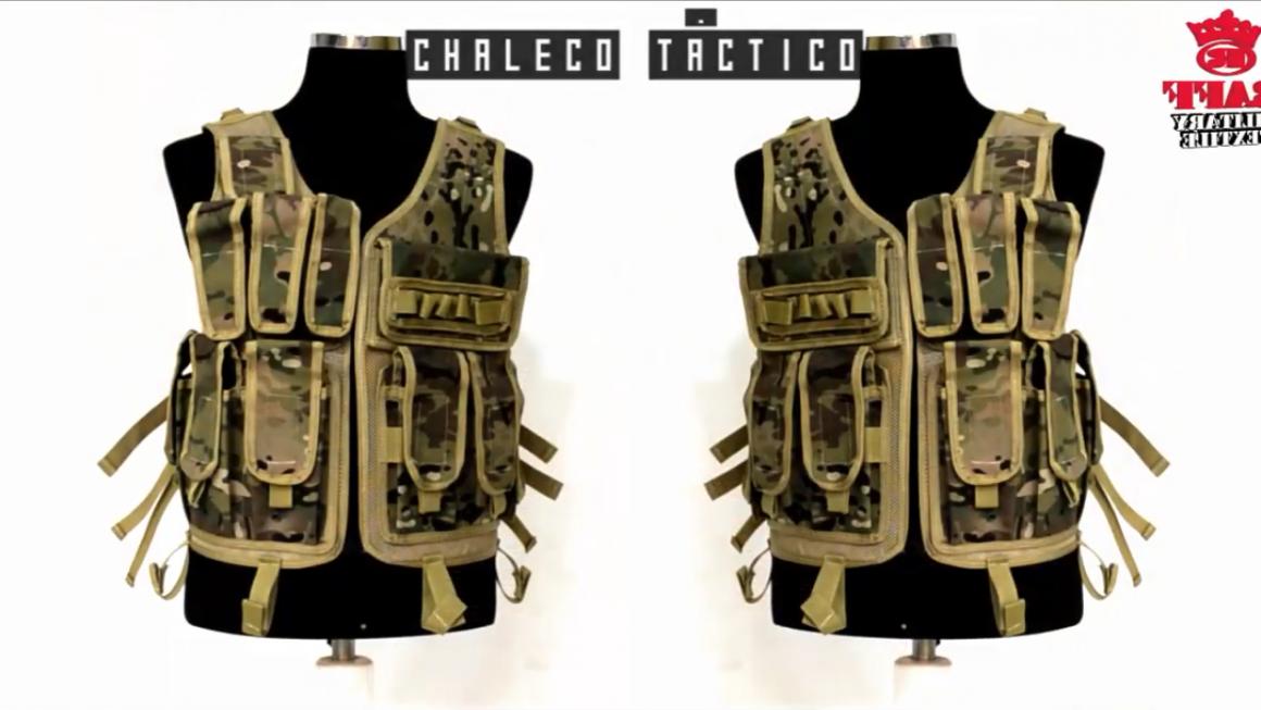 Chaleco táctico militar