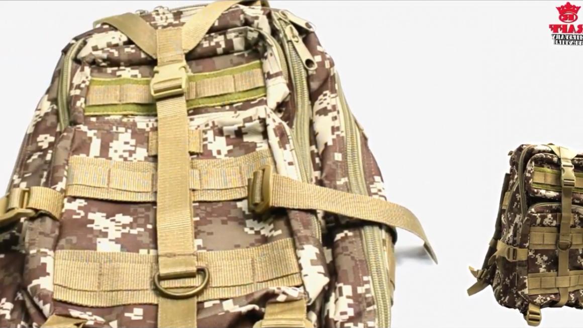 Nuevas mochilas militares