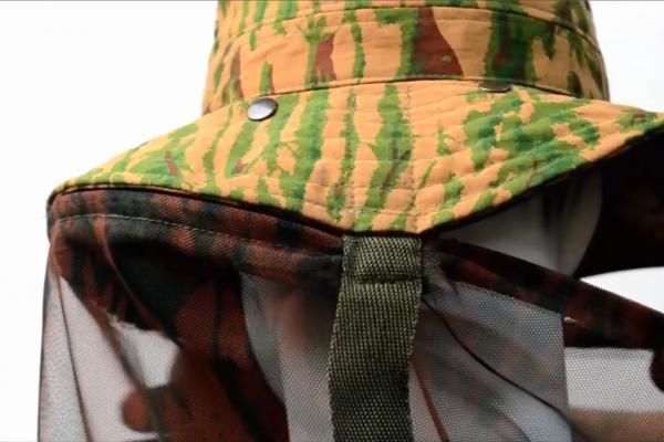 Sombrero militar para desierto
